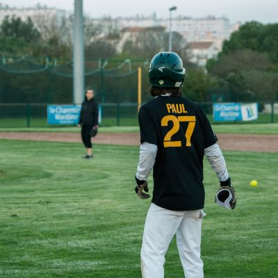 Paul-André Bodin Softball La Rochelle France