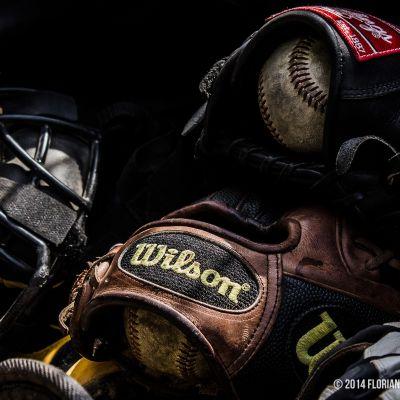 Matériels de baseball - Photo Florian Besnard