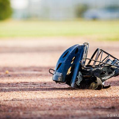 Casque de catcher baseball boucaniers
