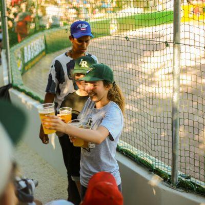 Match de baseball Boucaniers