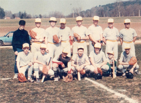 Histoire du baseball Boucaniers Club 1986