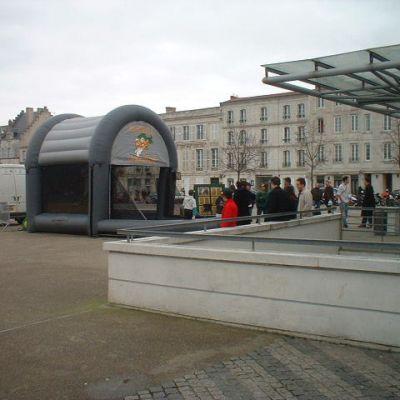 Structure centre ville