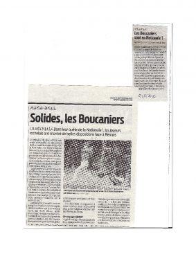 2012 Boucaniers