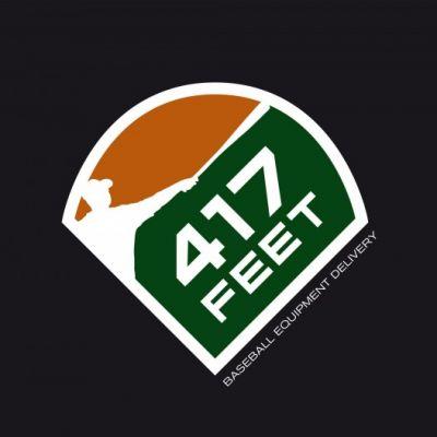 Logo 417 FEET baseball
