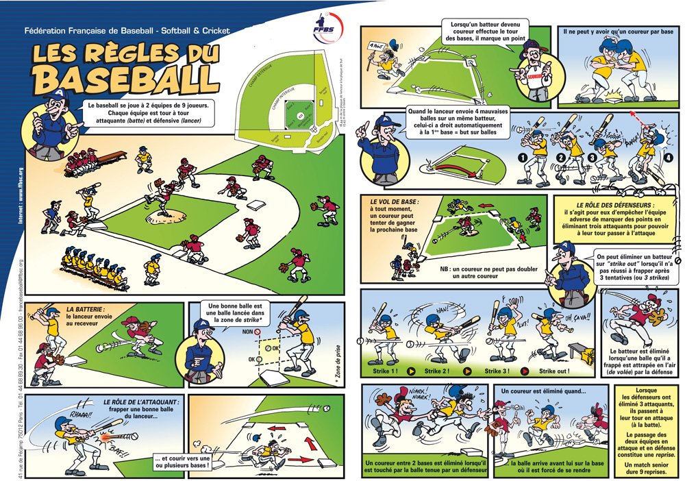Règles de baseball Boucaniers