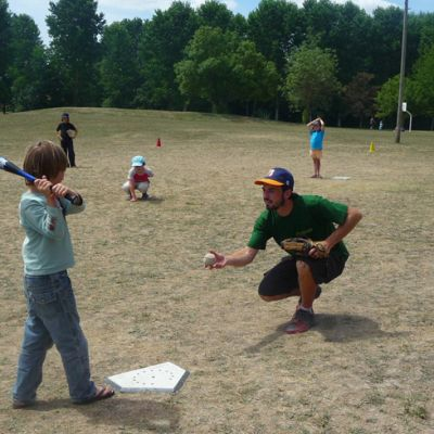 Animation baseball La Rochelle centre de loisir