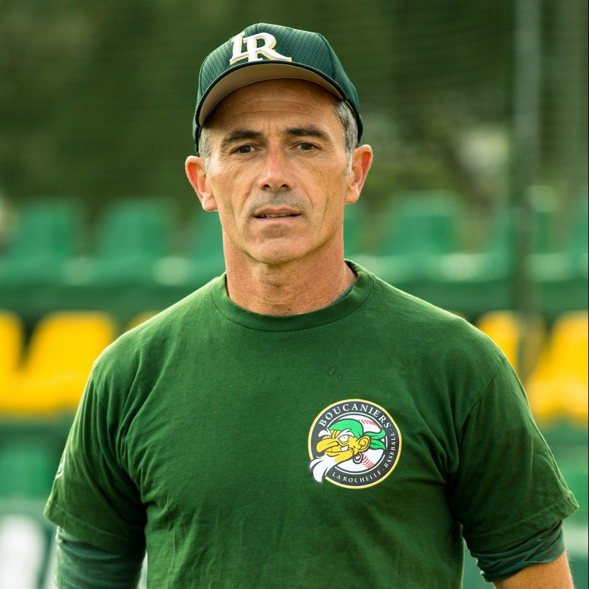 Pascal Regnier président du club de Baseball les Boucaniers