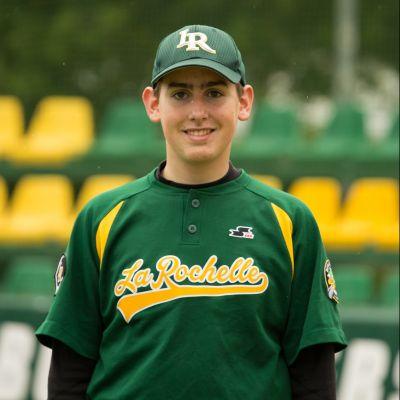 Marius Cellier jeune baseball Boucaniers