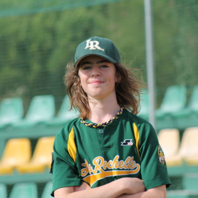 Carl - club de baseball les Boucaniers