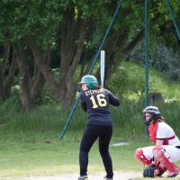 Match de softball Stéphanie Guillon