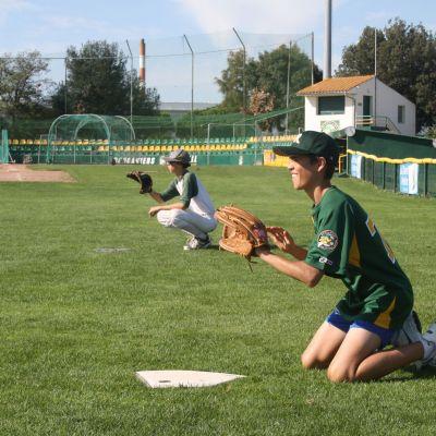 Equipe de baseball Boucaniers entrainement
