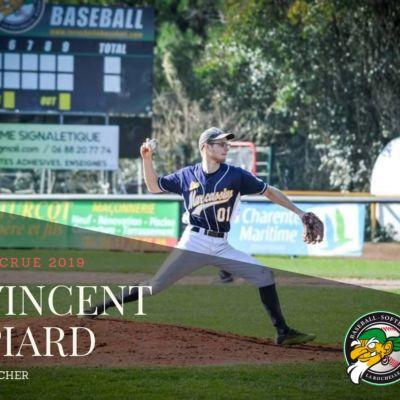 Vincent Piard - Club de baseball des Boucaniers