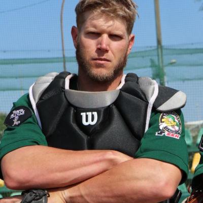 Jesse baker catcher - - club de baseball les Boucaniers