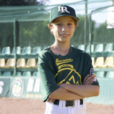 Photo de Julien joueur de baseball à la Rochelle