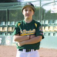 Photo de Lucca joueur de baseball à la Rochelle
