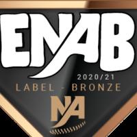 Label bronze ENAB