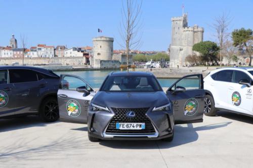 Trois véhicules Lexus logotés Boucaniers