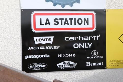 """Panneau """"La Station"""""""